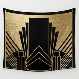 Art deco design Wall Tapestry
