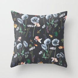 Fishes & Garden Throw Pillow