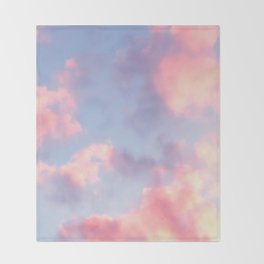 Whimsical Sky Throw Blanket