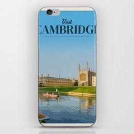Visit Cambridge iPhone Skin