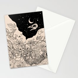Bad Moon Stationery Cards