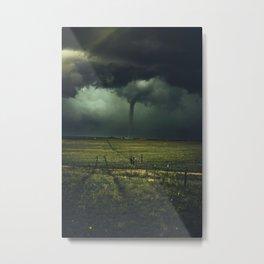 Tornado Coming (Color) Metal Print