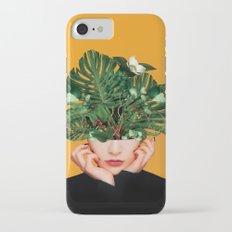 Lady Flowers    iPhone 7 Slim Case