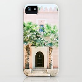 """Travel photography print """"Magical Marrakech"""" photo art made in Morocco. Pastel colored. iPhone Case"""