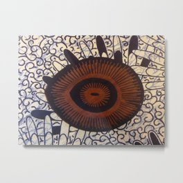 Tanzanian Fabric Metal Print