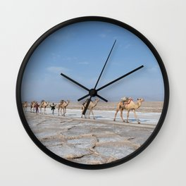 horse by Daniele Levis Pelusi Wall Clock