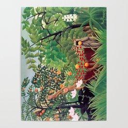 Henri Rousseau - Exotic Landscape Poster
