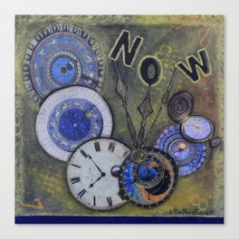 The Time is Always Now (or 11:11) Canvas Print
