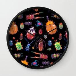Beetle Wall Clock