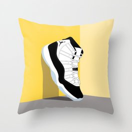 Air Jordan XI Illustration Throw Pillow