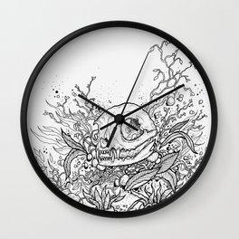 Dead Garden Wall Clock
