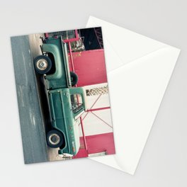 Old Truck & Red Building Stationery Cards