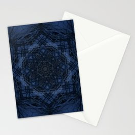 Night Hike Fractal Stationery Cards
