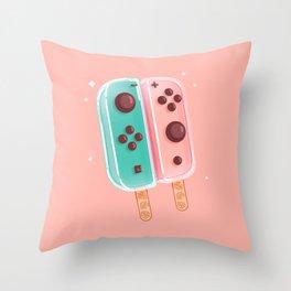Animal Crossing Ice Cream Throw Pillow