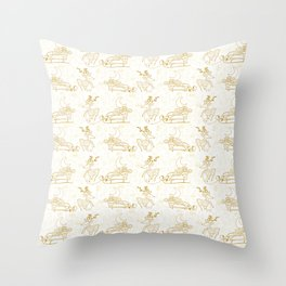Chistma Eve Throw Pillow