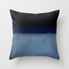 Rothko Inspired #1 Throw Pillow