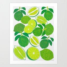 C Wall Art Poster Guacamole Ingredients Home Decor Art//Canvas Print