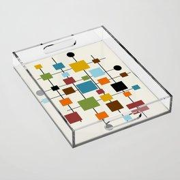 Mid-Century Modern Art 1.3 Acrylic Tray