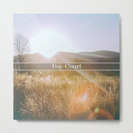 Day Court Metal Print