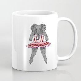 Elephant Ballerina Tutu Coffee Mug