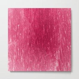 bright neon pink Metal Print