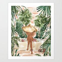 Vacation Mode Art Print
