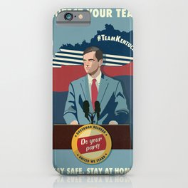 Protect Your Team iPhone Case