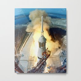 Apollo 11 Metal Print