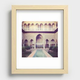 Real Alcazar Recessed Framed Print