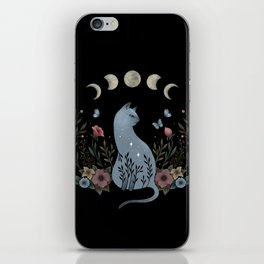 Cat on the Hill iPhone Skin