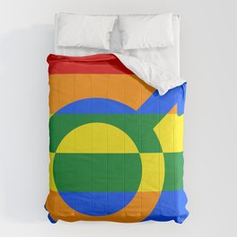 Gay Pride Rainbow Flag Boy Man Gender Male Comforters