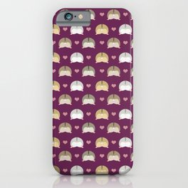 Hamster butts iPhone Case