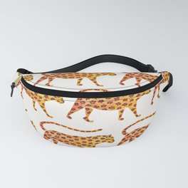 Jaguar Pattern Fanny Pack