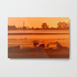 Dutch Mountains Metal Print