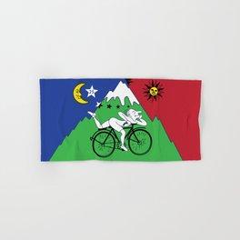 Bicycle Day 1943 Albert Hofmann LSD Hand & Bath Towel