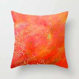 See Red  Throw Pillow