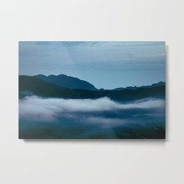 Snowdonia Cloud Inversion (Summer 2019) Metal Print