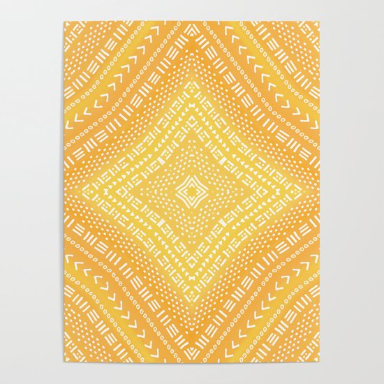 Yellow Boho Kaleidoscope by blueskywhimsy