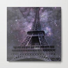 Paris Galaxy Metal Print