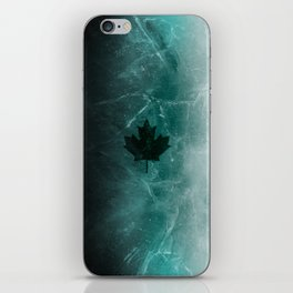 Black ice v1 iPhone Skin