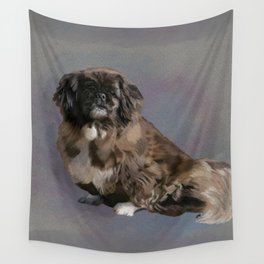 Moms Pudgy Wall Tapestry