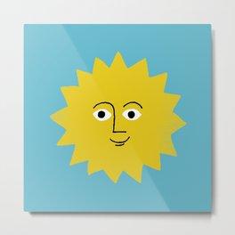 sunshine smiles Metal Print
