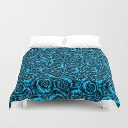 Rose   blue, blue... Duvet Cover