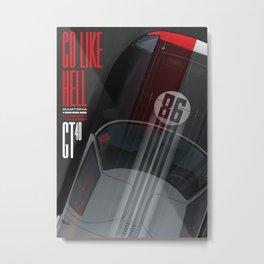 Go like Hell GT40 Miles Daytona 1966 Metal Print