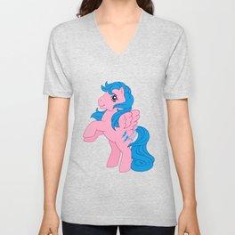 g1 my little pony Firefly Unisex V-Neck