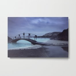 Blue Lagoon Blues Metal Print