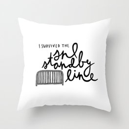 SNL Standby Throw Pillow