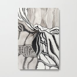Fabric No. 5 Metal Print