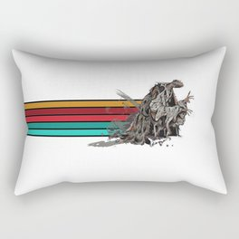 Skeksis Banner Strips Rectangular Pillow