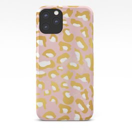 Abstract leopard pattern iPhone Case